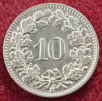 Switzerland 10 Rappen 1939 (B1301)