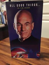 NEW STAR TREK THE NEXT GENERATION ALL GOOD THINGS THE FINALE EPISODE FREE SHIP