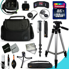 Pro ACCESSORIES KIT w/ 32GB Mmry f/ FUJI FinePix F600EXR F500EXR F550EXR