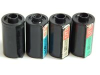 35mm FILM CASSETTE for Reusable, Reloadable plastic Spool USSR Lot 4 pcs.