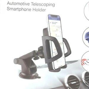 Brookstone Universal Car hands free Telescoping Smartphone Holder.