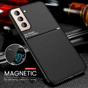 Slim Thin Shockproof Leather Case Cover For Samsung Galaxy S21 S20 Plus Ultra