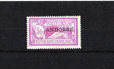 ANDORRE  au type  Merson  3f  lilas    de  1931 num : 20  **