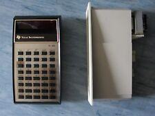 Taschenrechner Texas Instruments TI-30 mit roten Ziffern 70er Jahre
