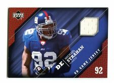 2005 UD Game Jersey #-GJ-MS Michael Strahan Giants Jersey jh12