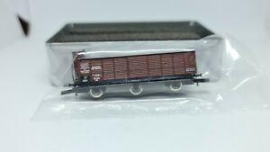 """Westmodel 7004 G1 3-achs Ged. Güterwagen mit Runddach Br.-Haus """"Dresden"""" DRG"""