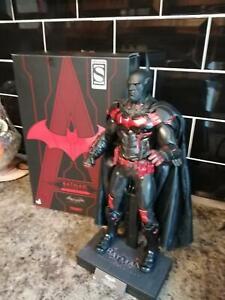 hot toys arkham knights red futura version batman