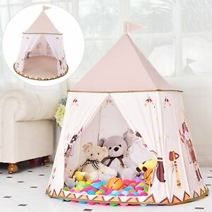 Kid Play Tent Portable Playhut Safe Easy Installation Comfortable Playhouse Gift