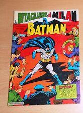 ED.MONDADORI SERIE  BATMAN  N° 50   1969  !!!!! CON SQUADRA MILAN DA RITAGLIARE