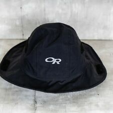 Gore-Tex Outdoor Research Spell Out Vintage Boonie Hat Black Size Small