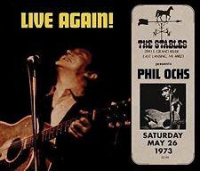 Live Again! by Phil Ochs (CD, Jun-2016, Retroworld)