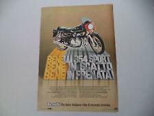 advertising Pubblicità 1979 MOTO BENELLI 354 SPORT