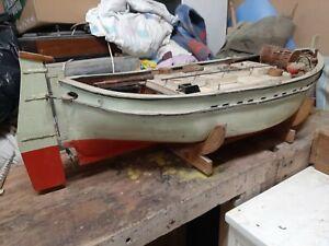 Maquette de bateau ancienne