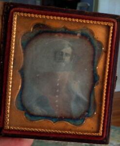 Civil War Soldier Daguerreotype in Case