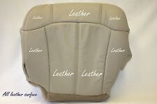 2001 Chevy Tahoe LT Z71 Driver Bottom Replacement Leather Seat Cover Tan