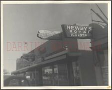 Vintage Photo Newbys Royal & Red Robin Bordens Ice Cream Roadside Signs 671928