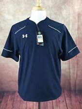 NWT Under Armour Ultimate Cage 1/4 Zip Pullover Jacket Navy Men's S MSRP $54.99
