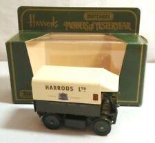 MATCHBOX MODELS OF YESTERYEAR 1919 WALKER ELECTRIC VAN - HARRODS LTD - Y-29