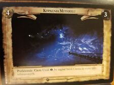 Lord of the Rings CCG Fellowship 1U345 Mithril Mine GERMAN LOTR TCG