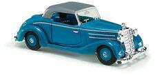 BUSCH 40526 échelle H0 Mercedes 170S Cabriolet fermé, Bleu # in #