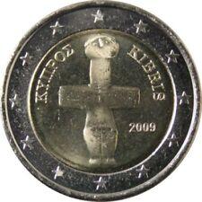 Pièces euro de Chypre pour 2 euro année 2009