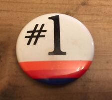 United Airlines UA Vintage Lapel Button Pin Number #1 Collectible