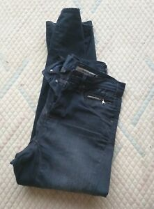 Men Levi's Engineered Twisted Black Jeans Size 32X32