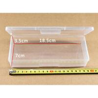 Boîte de rangement en plastique clair Ongles Perles Conteneur Organisateur OuC8F