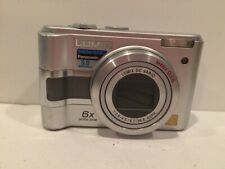 Panasonic Lumix DMC-LZ3 5.0MP Digital Camera Silver TESTED
