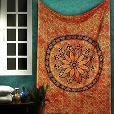 Mandala Tapestry Hippie Wall Hanging Dorm Decor Twin Elephant Tapestry