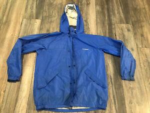 Vintage MontBell Blue Windbreaker Jacket Men's Medium