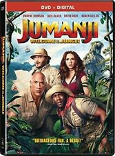 JUMANJI WELCOME TO THE JUNGLE(DVD+DIGITAL HD)NEW UNOPENED