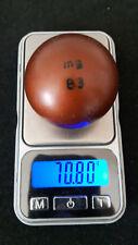 Minigolfball MG B3 gold markiert bespielt Balldaten im Text bitte Text lesen