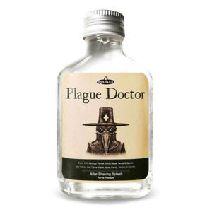 RAZOROCK Plague Doctor Aftershave Lotion Splash 100ml