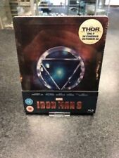 Iron Man 3 Bluray UK Zavvi Exclusive SteelBook ltd Edition New Sealed RARE ABC