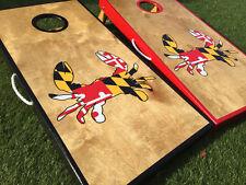 Maryland Crab Cornhole Board Set