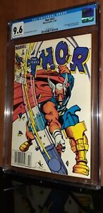 CGC 9.6 Thor # 337 Rare Newsstand Variant. First appearance of Beta Ray Bill MCU