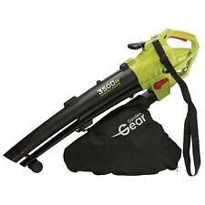 More details for garden gear electric leaf blower vacuum shredder mulcher 45l 3-in-1 3500w 10m
