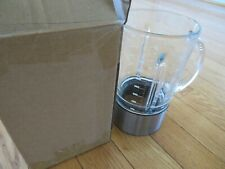 BREVILLE heavy glass blender ONLY, NO BLADES, BBL600XL