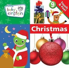 Baby Einstein: Touch and Feel Christmas (A Touch-and-feel Book)-ExLibrary