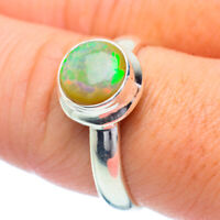 Ethiopian Opal 925 Sterling Silver Ring Size 9 Ana Co Jewelry R35197F