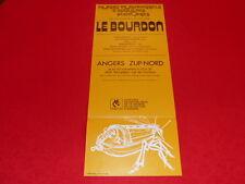 """[JEAN-JACK MARTIN Col LE BOURHIS] AFFICHE """"LE BOURDON""""  FOLK  ANGERS AMCA 1972"""