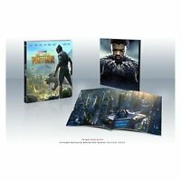 BLACK PANTHER BLURAY DIGITAL plus 40 page book  target In Stock