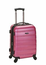 """Rockland F145 Melbourne 20"""" Expandable Carry On Hard Luggage ABS"""