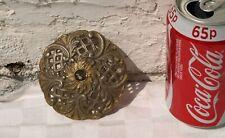 VINTAGE RECLAIMED CHANDELIER GOLD COLOURED METAL BOBECHE