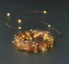 Home Set of 120 LED Copper wire Lights - Warm White