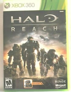 Xbox 360 Halo Reach 2010 cleaned verified working EUC Complete