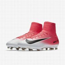 Nike Mercurial Veloce III DF FG NEW Boots Pink  Black Sz 10.5   831961- d5c1afe2f944c