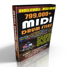 799,000+ MIDI DRUM Files - ABLETON CUBASE FL STUDIO LOGIC PROTOOLS REASON