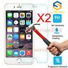 2Pcs 9H+ Premium Tempered Glass Screen Protector For Apple iPhone 6 7 8 Plus XR